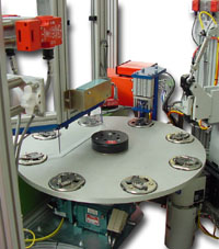 rotary table with nest tooling